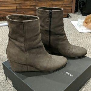 Vince Michela Boots (Smoke) Size 9.5